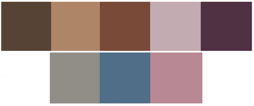 Colour scheme BULAGGI AW 20-21 Elegance