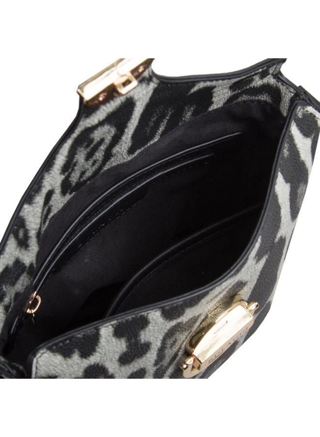 Crossbody bag Leo (black)
