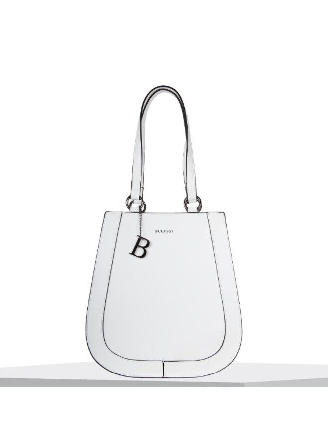 Shopping bag Kayla (white)