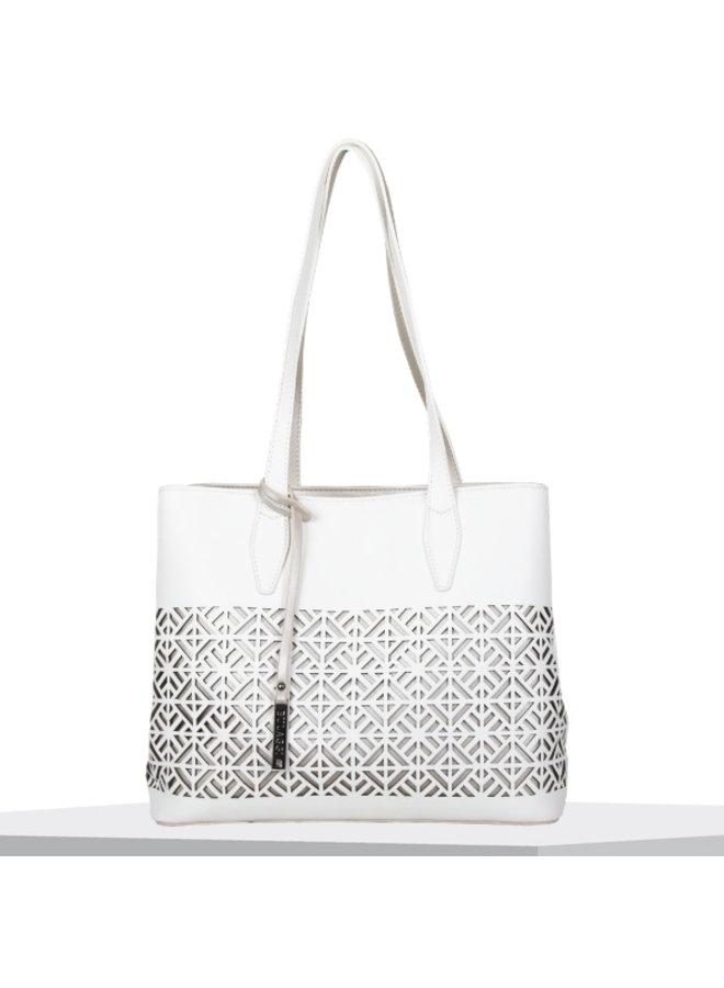 Shopping bag Livid (white)