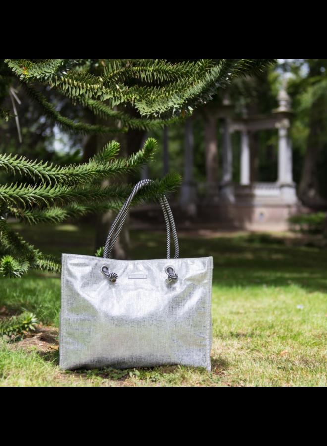 Shopping bag Spur (silver)
