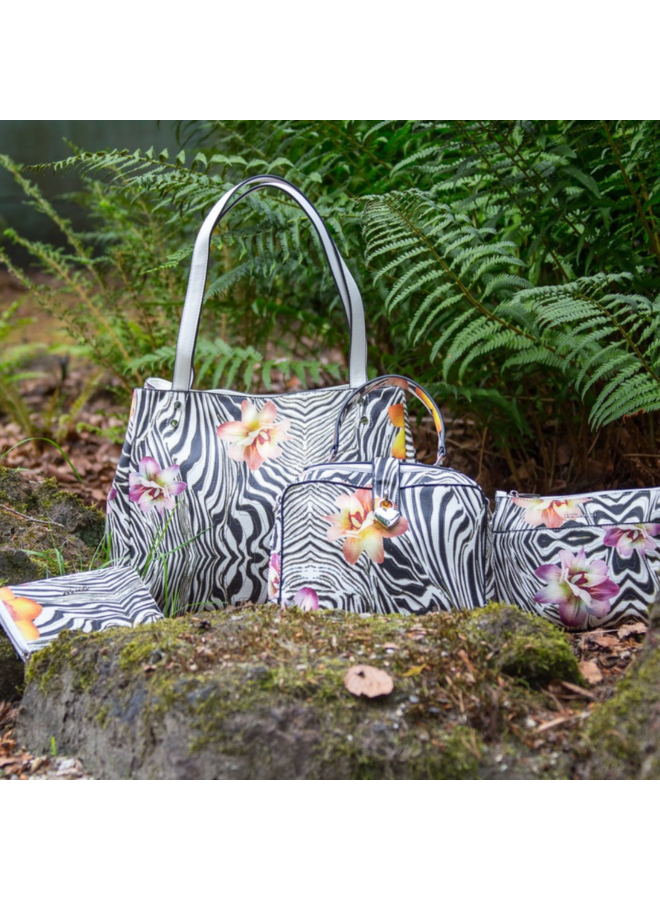 Purse Zebraflower (multicolour)