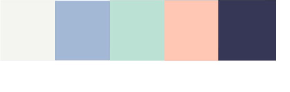 Kleurenpalet pastelkleurige tassen BULAGGI