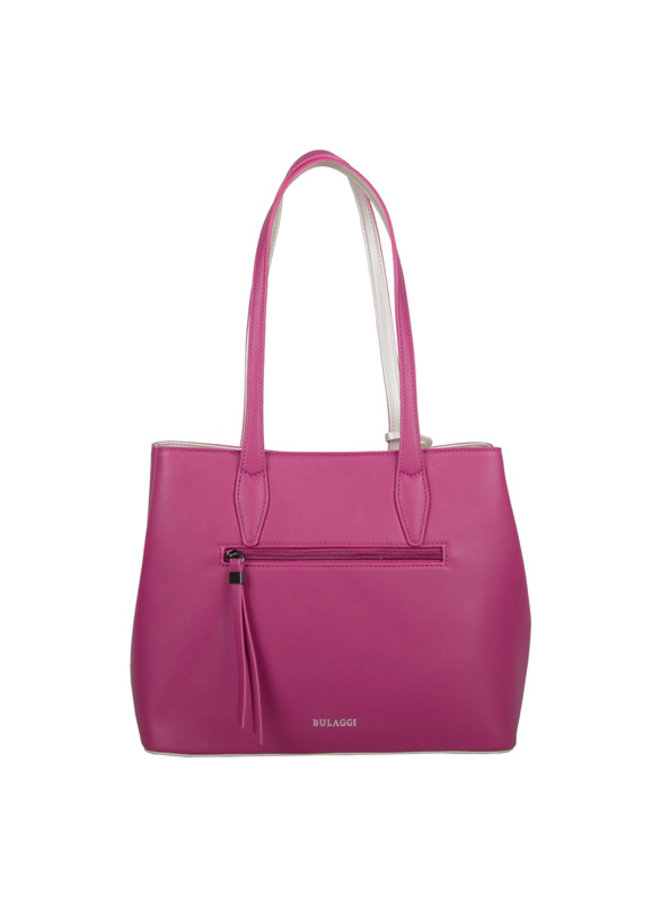 Shopping bag Livid (fuchsia)