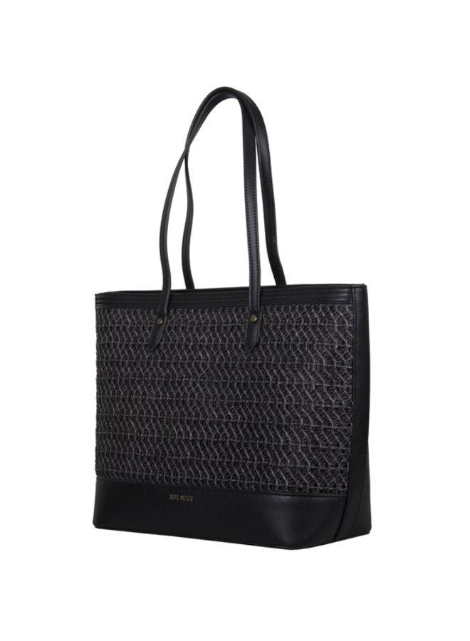 Shopping bag Atomic (black)