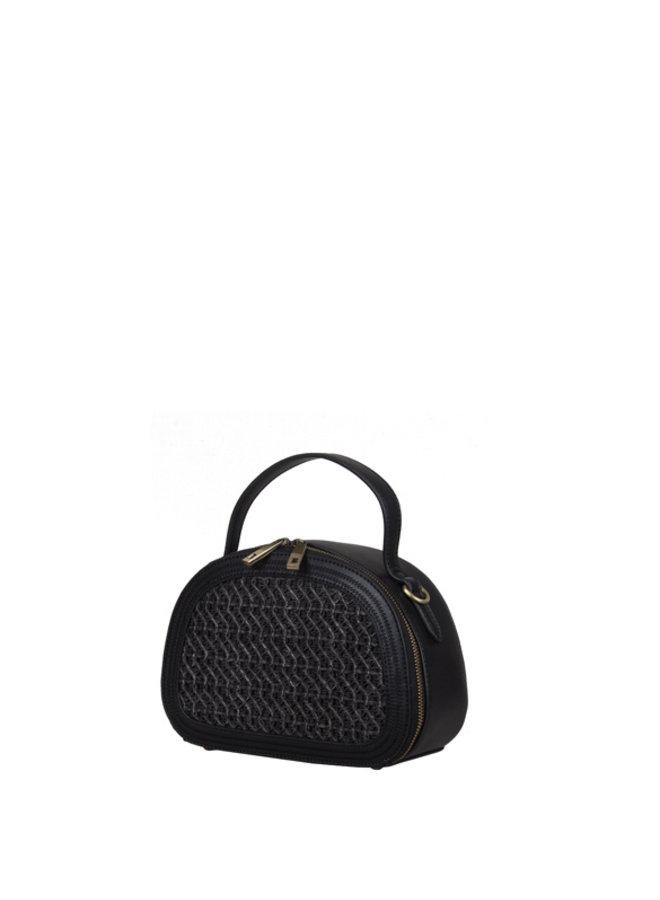 Crossbody bag Atomic (black)