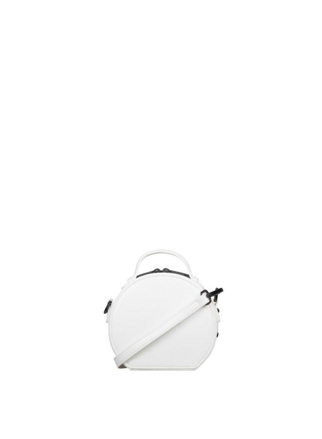 Handbag (circle bag) Zigzag (yellow)