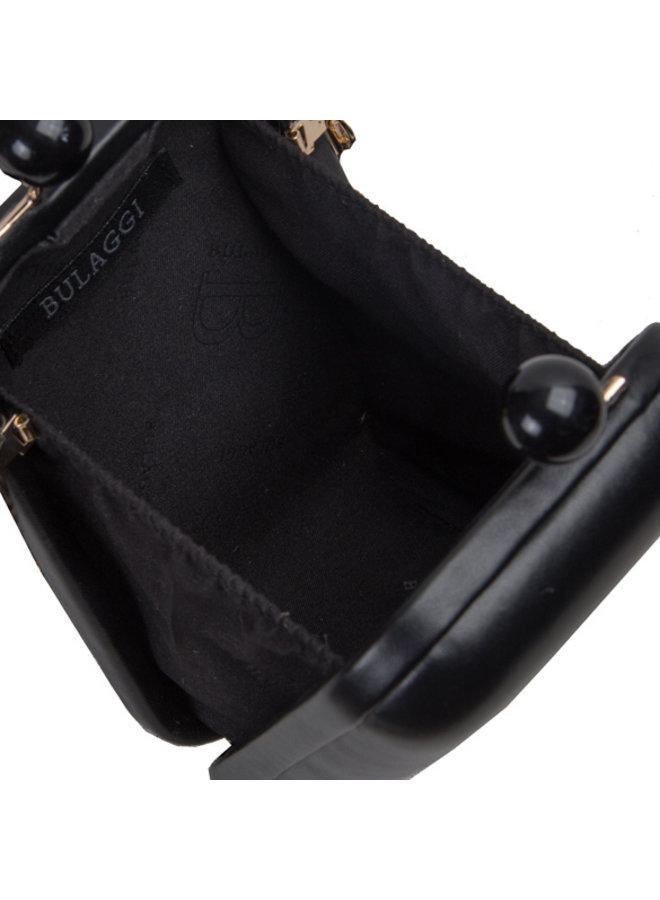 Clutch bag Wally (black)