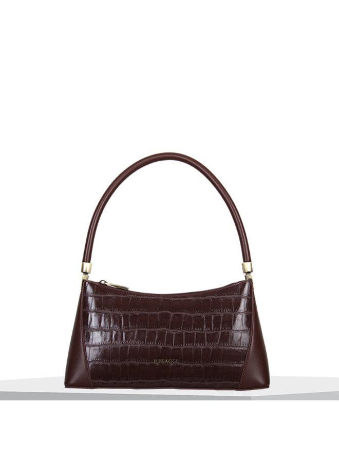Handbag Iris (dark brown)