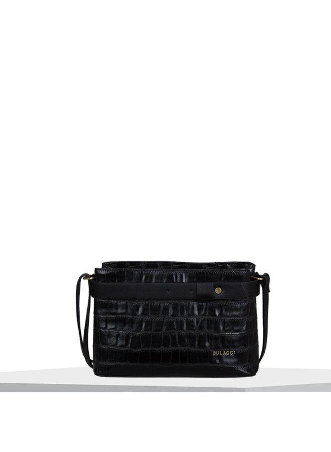 Crossbody bag Iris (black)