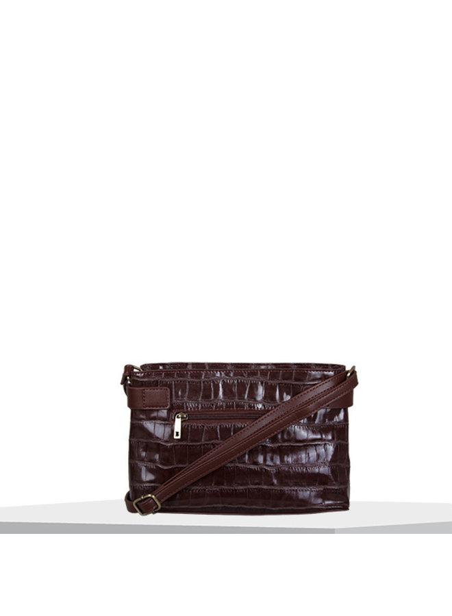Crossbody bag Iris (dark brown)