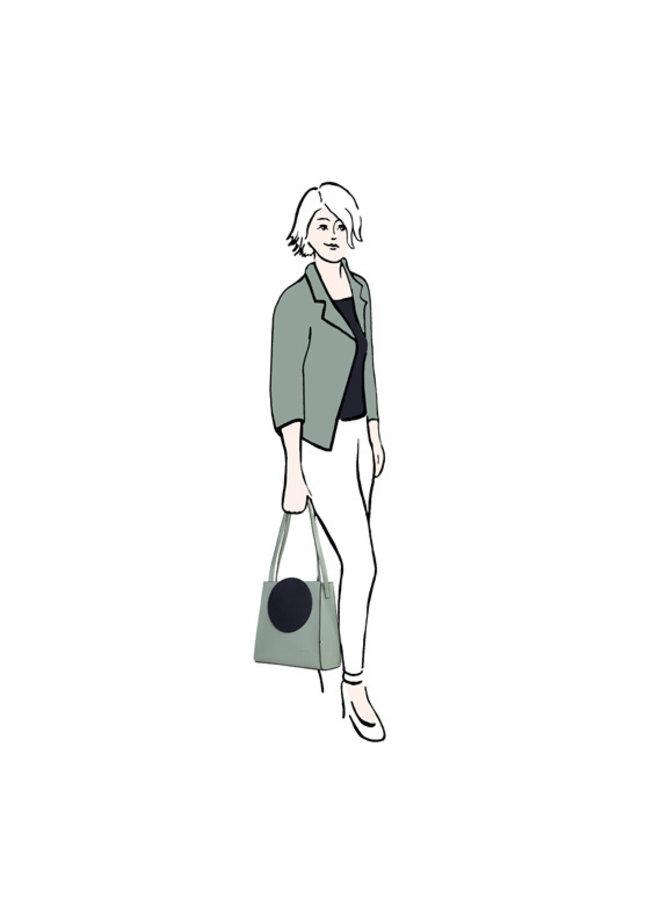 Shopping bag Coco (mint)