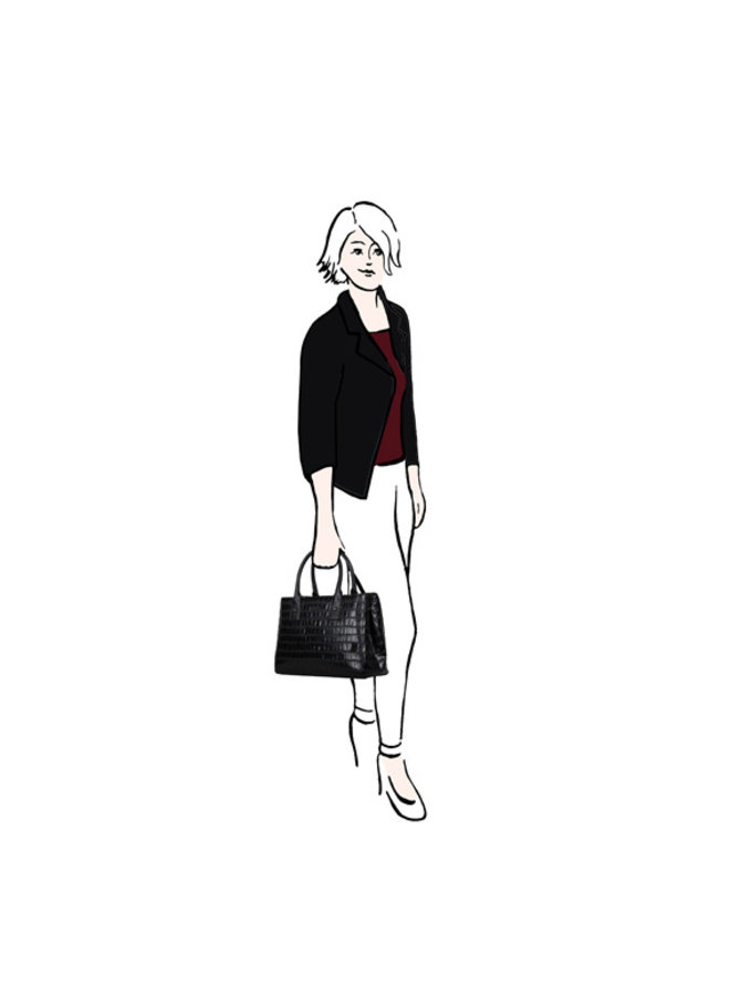 Handbag Iris (red)