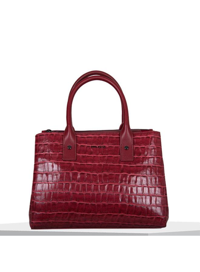 Shopping bag Iris (red)
