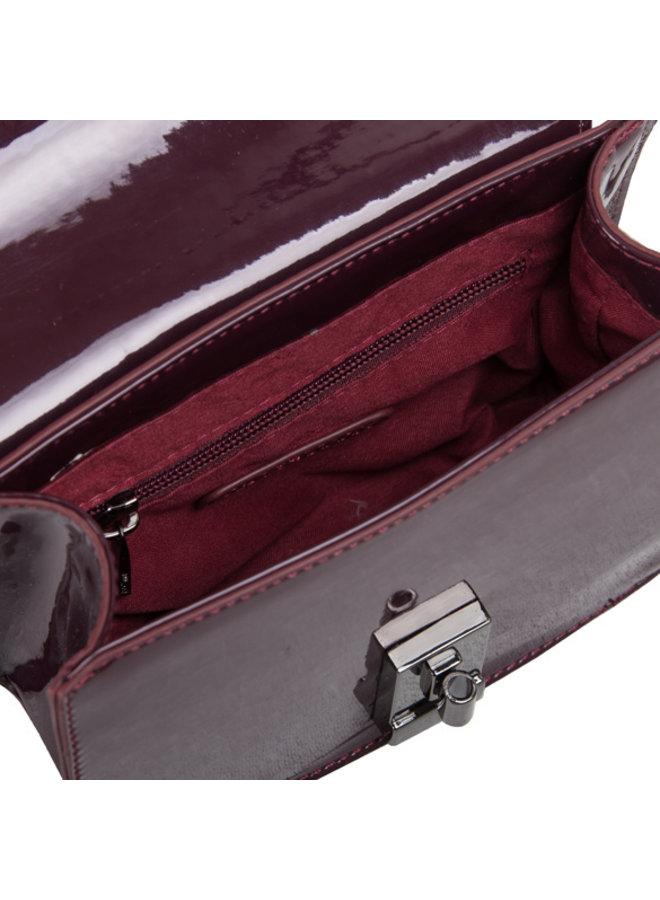 Crossbody bag Aster (burgundy red)