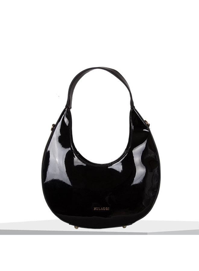 Hobo shoulderbag Aster (black)