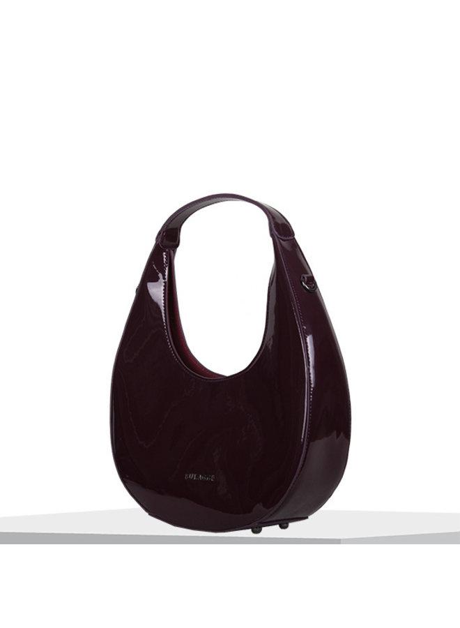 Hobo shoulderbag Aster (burgundy red)