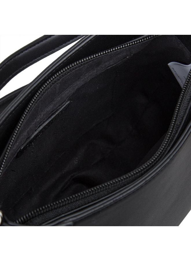 Crossbody tas Bouquet (zwart)