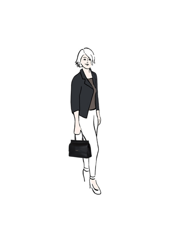 Handbag Cynthia (dark blue)