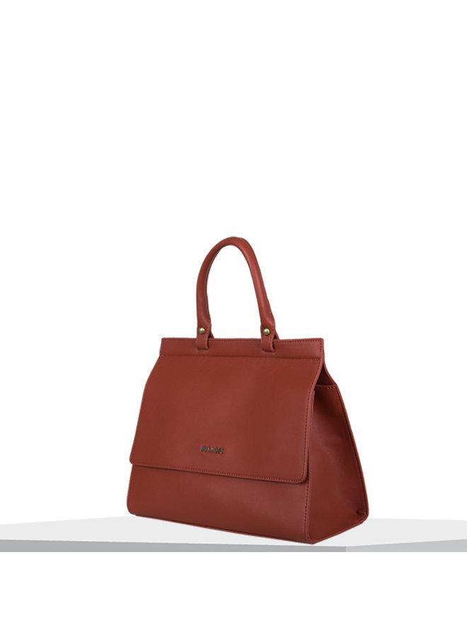 Handbag Cynthia (burnt orange)