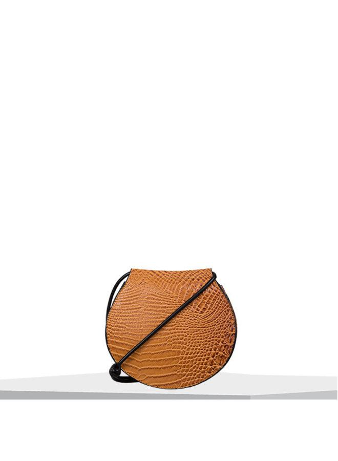 Crossbody bag Lotus (cognac)