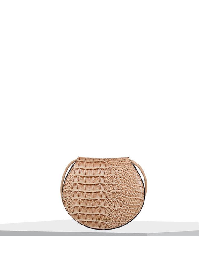Crossbody bag Lotus (camel)