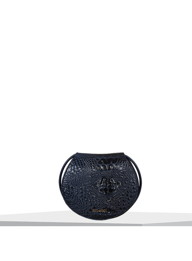 Crossbody bag Lotus (dark blue)