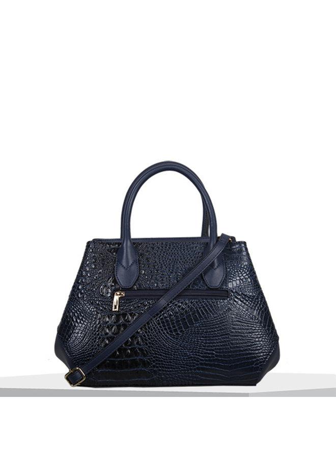 Handbag Lotus (dark blue)