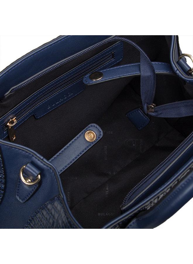 Handtas Lotus (donkerblauw)