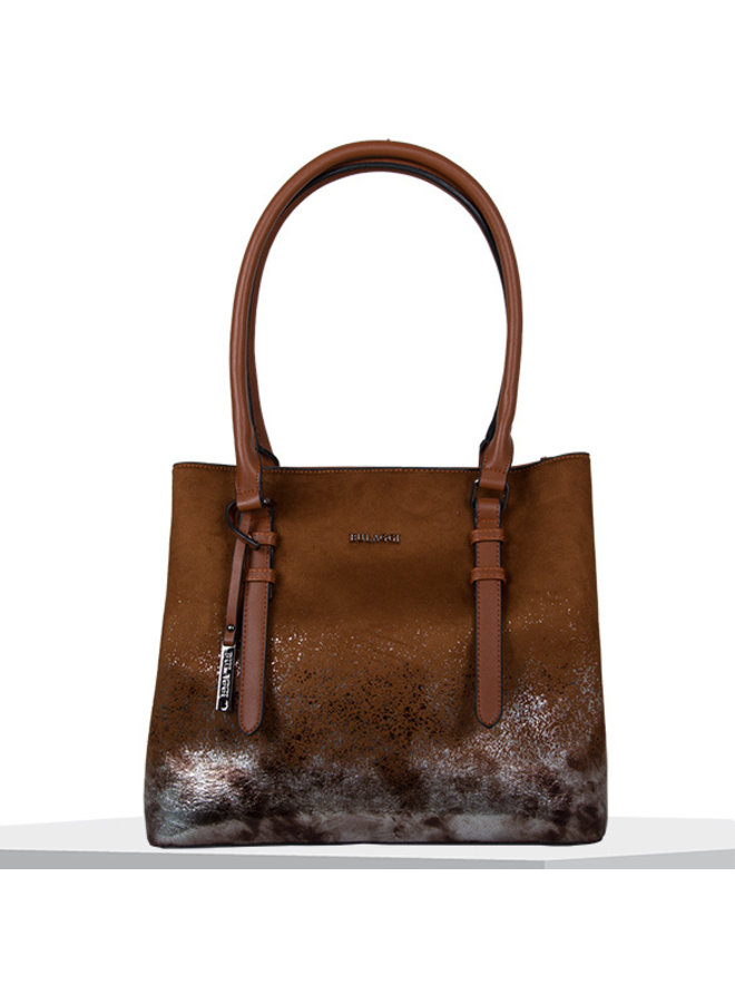 Shopping bag Flame (cognac)