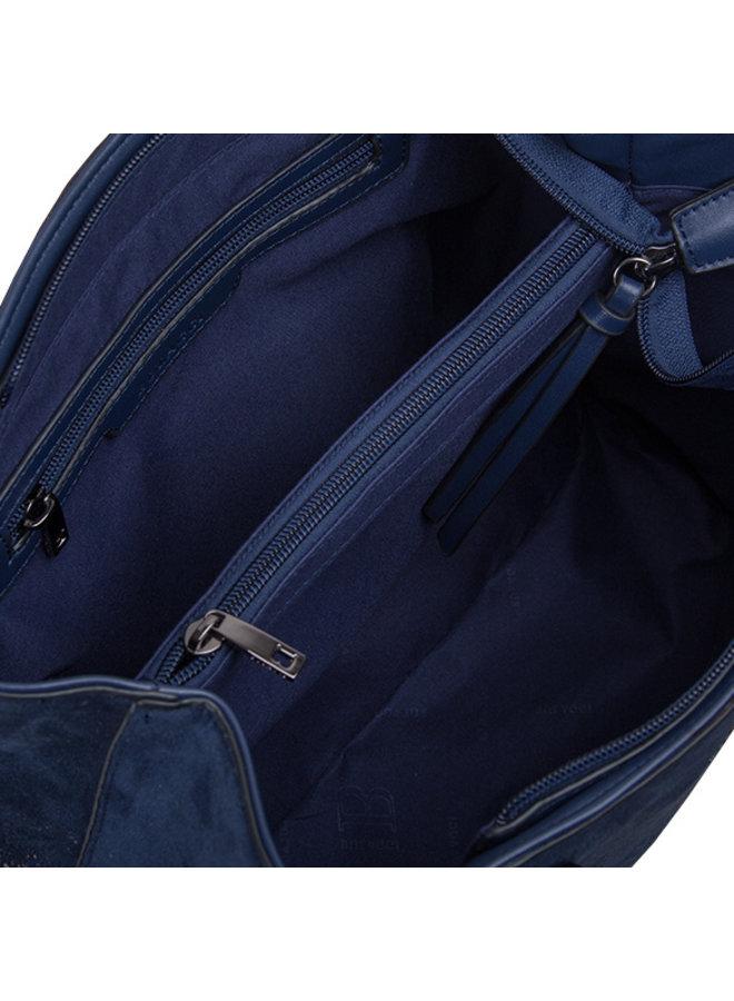 Shopping bag Flame (dark blue)
