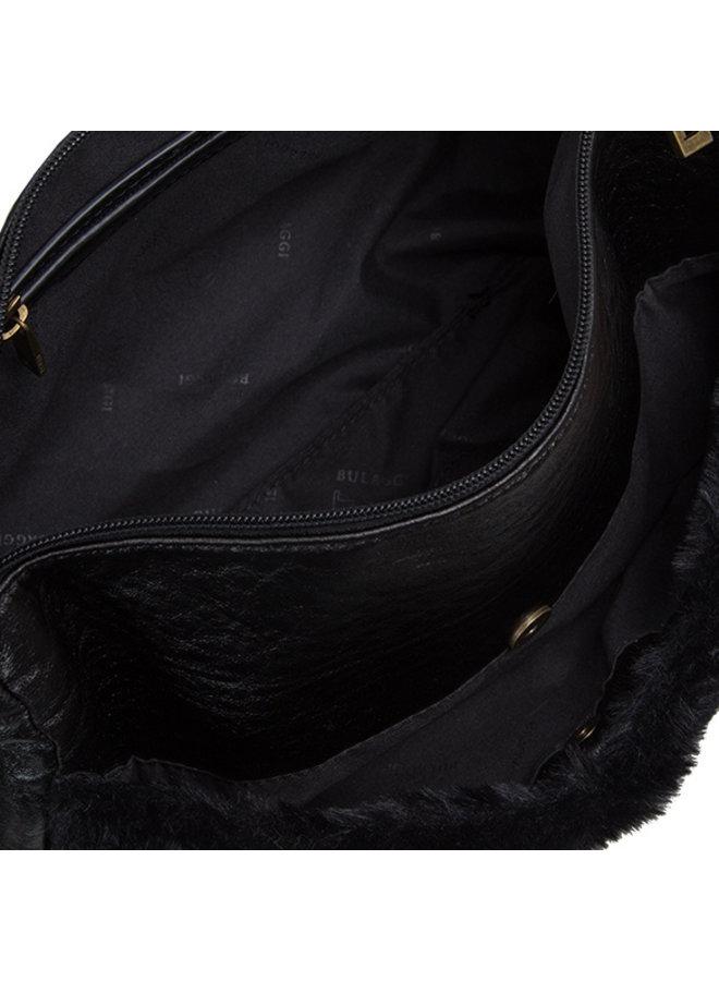 Crossbody tas Lammy (zwart)