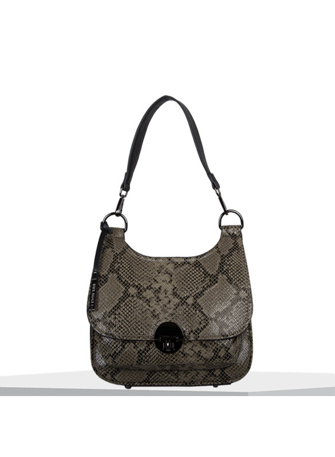 Crossbody tas Quince (taupe)