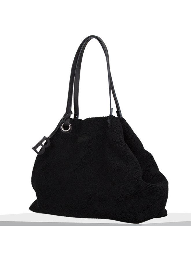Shopping bag Teddy (black)