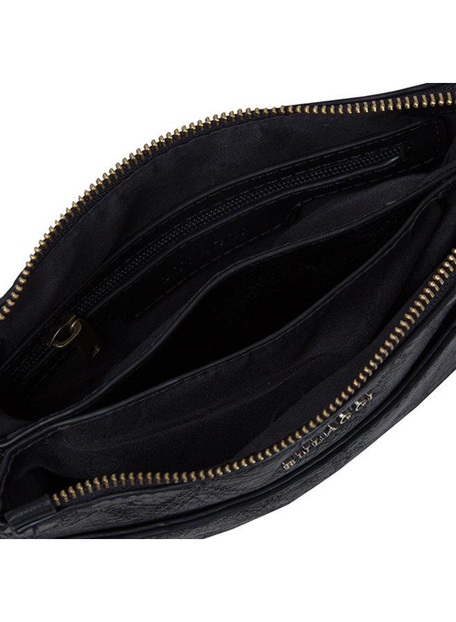 Crossbody tas Meghan (zwart)