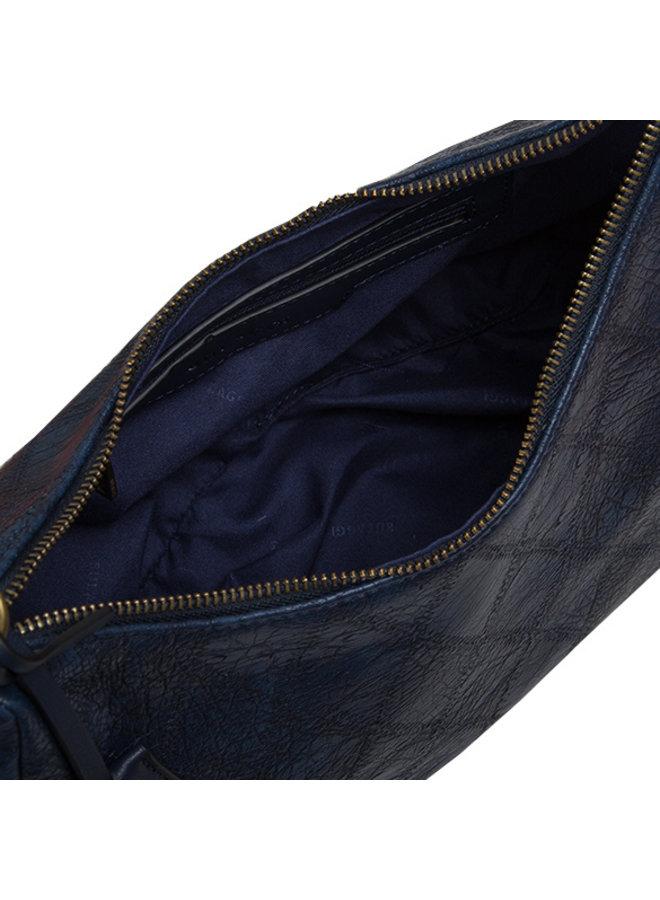Hobo schoudertas Meghan (donkerblauw)