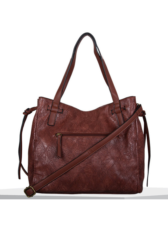 Shopping bag Meghan (burnt orange)