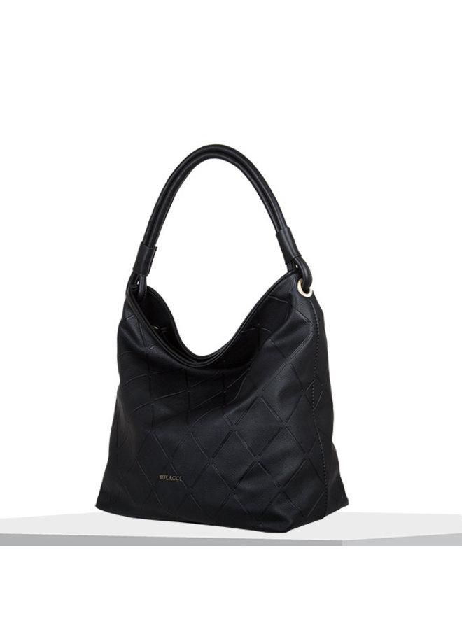 Hobo shoulderbag Sam (black)
