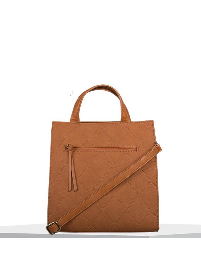 Shopping bag Sam (cognac)