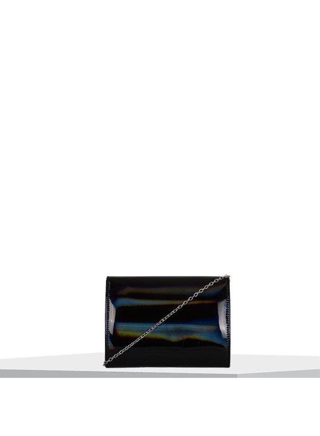 Clutch Rainbow (zwart)