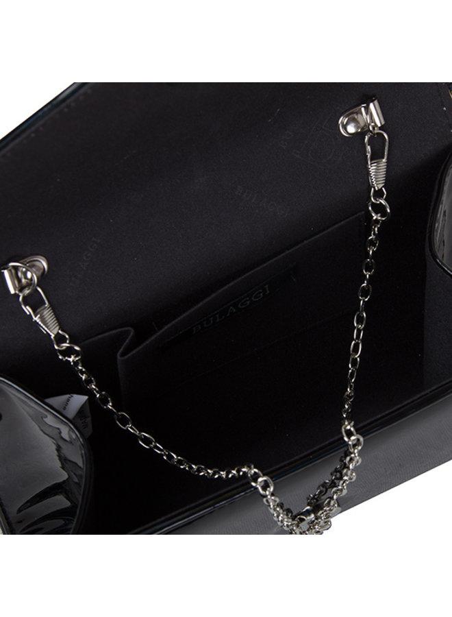 Clutch bag Rainbow (black)