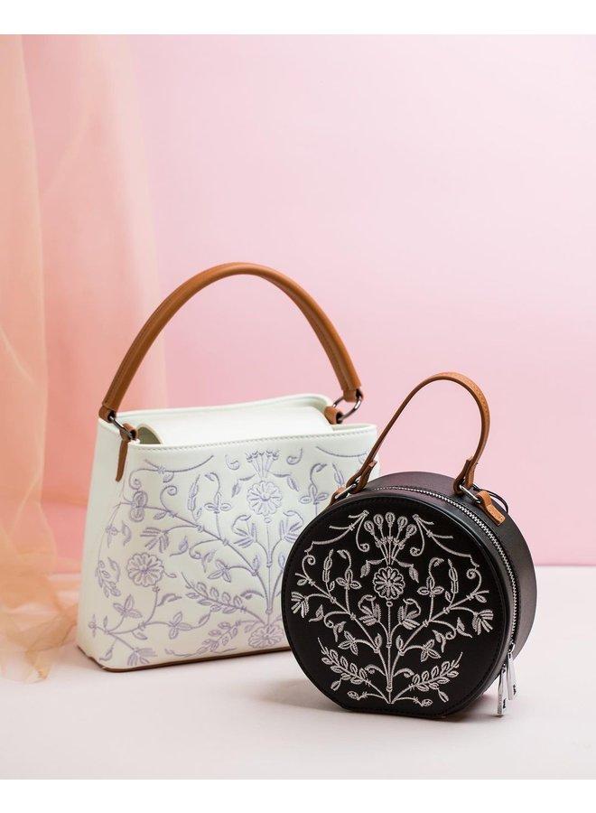 Crossbody bag Embroidery (black)
