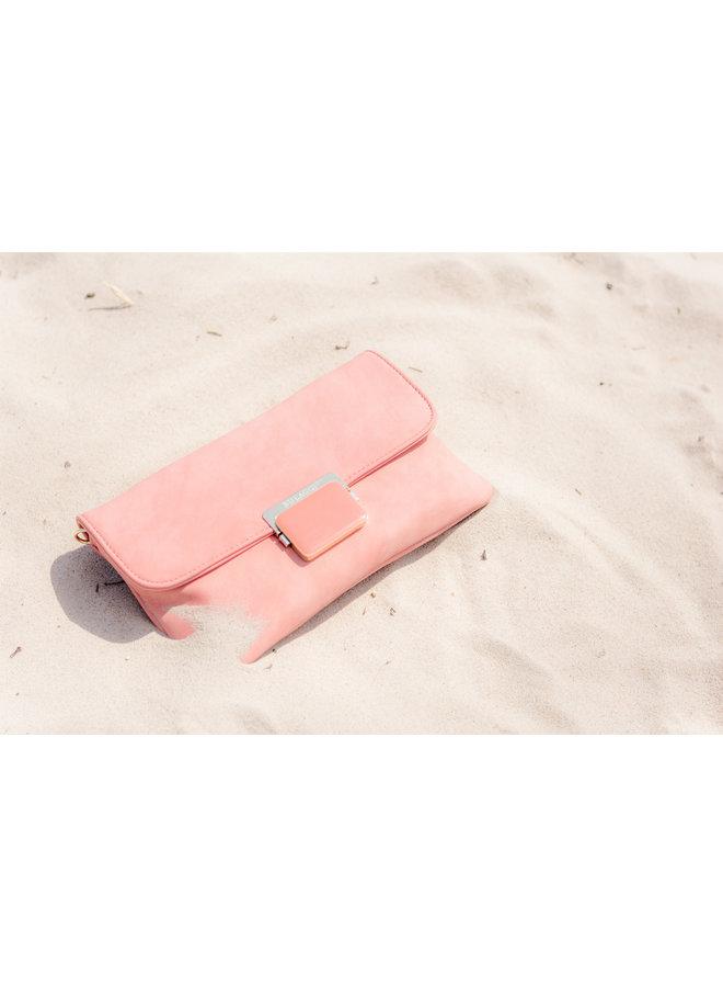 Clutch bag Carnation (coral red)