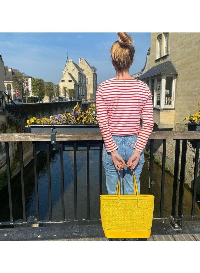 Shopping bag Atomic (yellow)