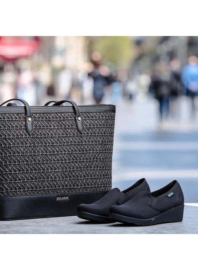 Shopper Atomic (zwart)