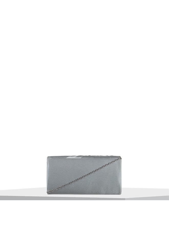 Clutch bag Twiggy (silver)