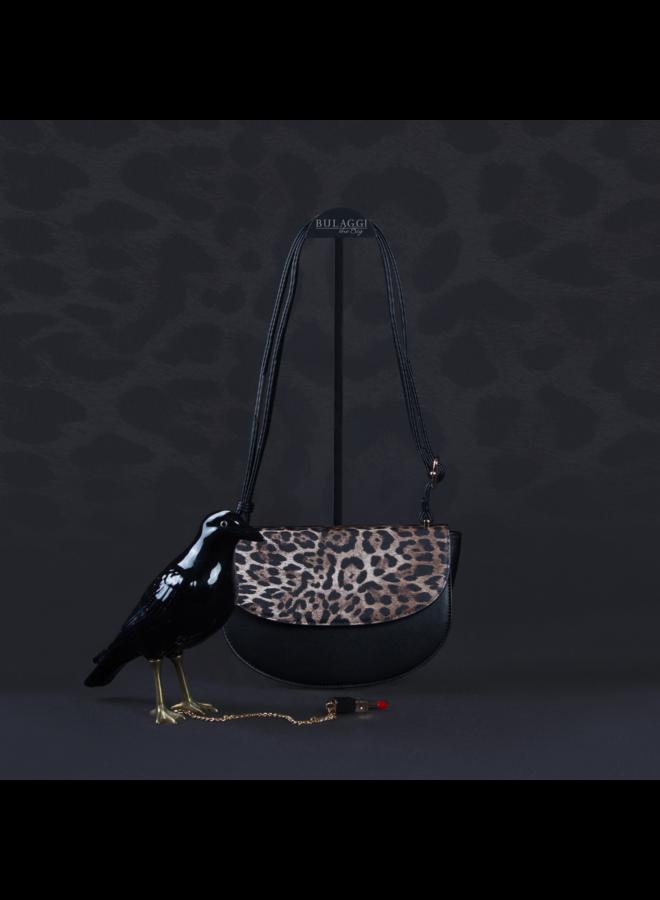 Crossbody tas Leo (zwart)