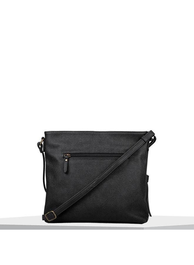 Crossbody tas Gerbera (zwart)