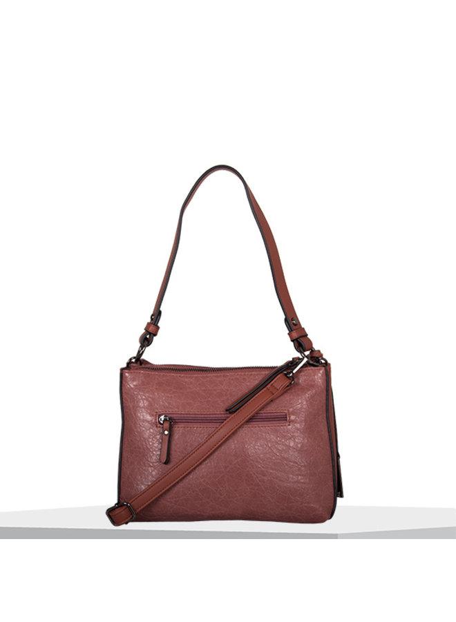 Crossbody tas Heather (oud roze)