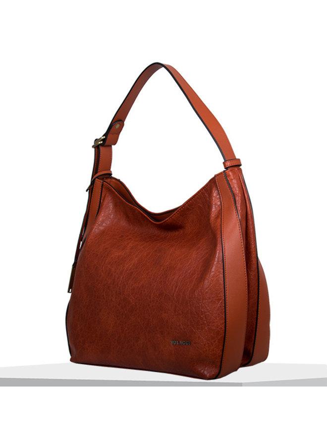Hobo shoulder bag Heather (burnt orange)